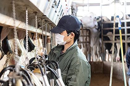愛知県・平和牧場のスタッフ